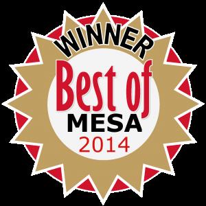 Winner, Best of Mesa 2014