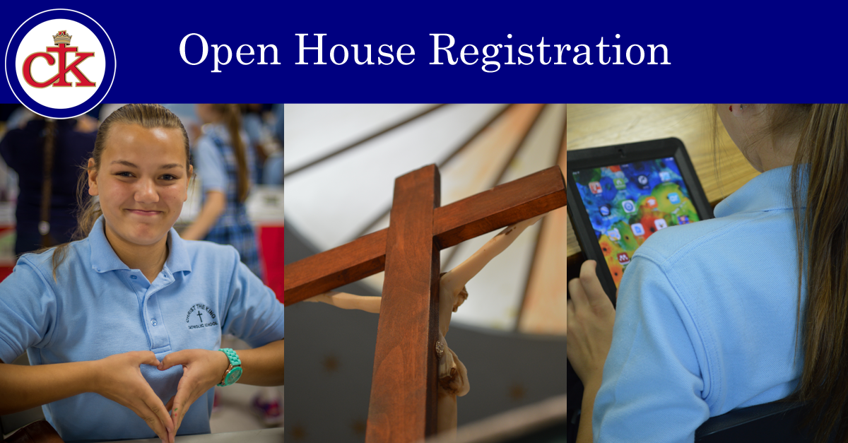 Christ the King Catholic School Open House | January 25-26th 2015