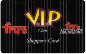 Fry's VIP Card